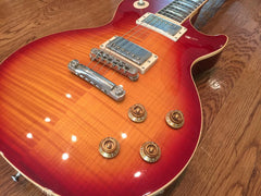 2002 Gibson Les Paul Standard Premium Plus w/ Heritage Cherry Burst Finish - Vintage Guitar Gallery of Long Island | Vintage Guitar Shop