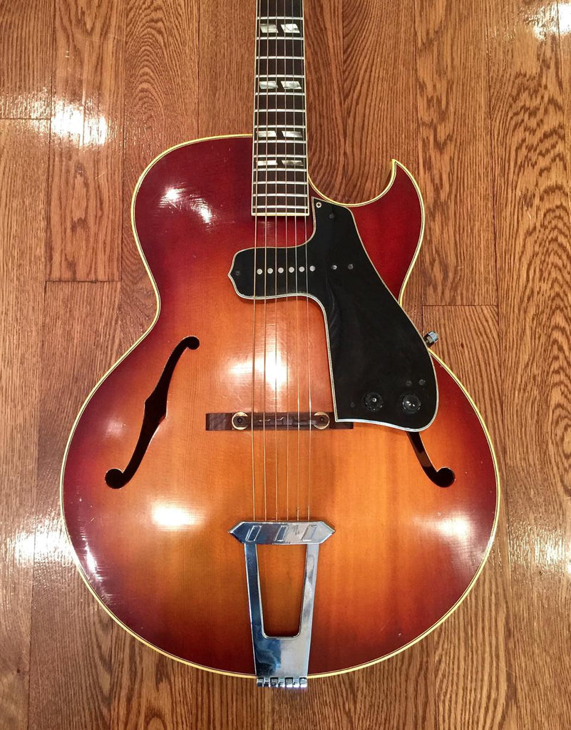 1965 Gibson L-4C w/McCarty Pickguard-Gibson-Vintage Guitar Gallery of Long Island | Vintage Guitar Shop