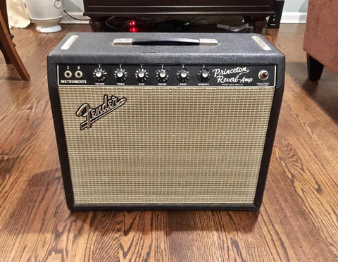 1965 Fender Princeton Reverb-Fender-Vintage Guitar Gallery of Long Island | Vintage Guitar Shop