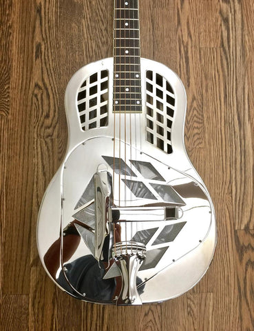 2013 National Resophonic Style 1 German Silver Tricone Resonator-National-Vintage Guitar Gallery of Long Island | Vintage Guitar Shop