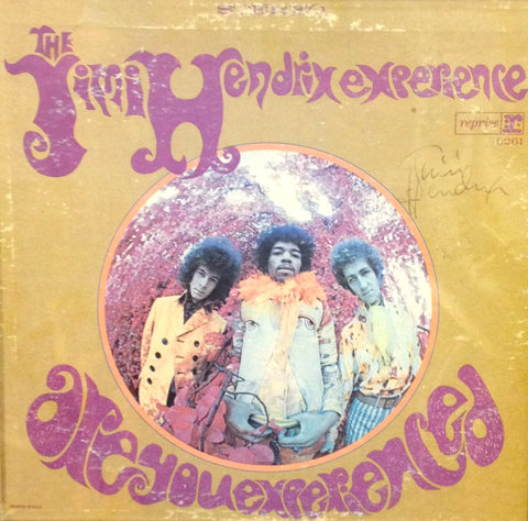 "Jimi Hendrix ""Are You Experienced"" Personally Signed by Hendrix w/COA - Vintage Guitar Gallery of Long Island 
