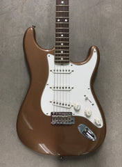 Fender Stratocaster Eric Johnson Signature Limited Edition Palomino Metallic - Vintage Guitar Gallery of Long Island | Vintage Guitar Shop