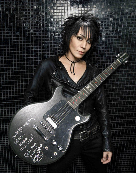 Signed Joan Jett Gibson Melody Maker Guitar-Gibson-Vintage Guitar Gallery of Long Island | Vintage Guitar Shop