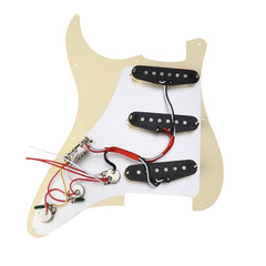 Prewired Pickguard  Schrauben Set Commemorative Model Classical Prewired Loaded SSS Pickguard alnico V pickups in 60s for Fender ST Guitar - Vintage Guitar Gallery of Long Island | Vintage Guitar Shop