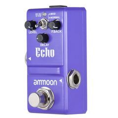 ammoon Nano Series Delay Guitar Effect Pedal True Bypass Aluminum Alloy Body - Vintage Guitar Gallery of Long Island | Vintage Guitar Shop