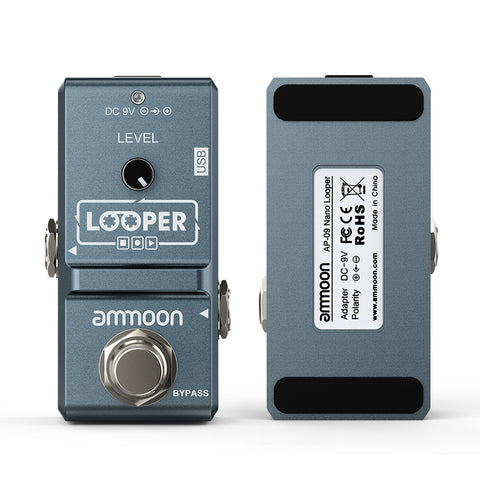 Ammoon AP-09 Nano Series Loop Electric Guitar Effect Pedal Looper True Bypass - Vintage Guitar Gallery of Long Island | Vintage Guitar Shop