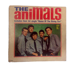 "1964 ""The Animals"" 1st U.S. Release Album - Band Signed - Vintage Guitar Gallery of Long Island 