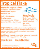 Tropical Fish Flakes (50grams)