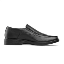 Load image into Gallery viewer, Bruno Marc Men's Genuine Leather Square Toe Slip On Formal Dress Loafer Shoes