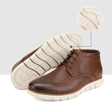 Load image into Gallery viewer, Bruno Marc Men's Casual Dress Chukka Genuine Leather Lace-Up Oxford Ankle Boots