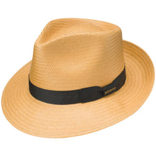 Load image into Gallery viewer, Stetson Reward Shantung Straw Fedora