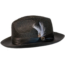 Load image into Gallery viewer, Julian Straw Fedora by Bruno Capelo