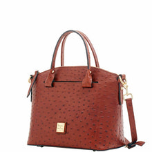 Load image into Gallery viewer, Dooney & Bourke Ostrich Domed Satchel