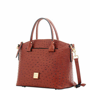 Dooney & Bourke Ostrich Domed Satchel