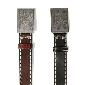 True Religion Men's Stitched Leather Belt