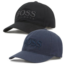 Load image into Gallery viewer, Hugo Boss Men's Casual Cotton Twill Cap Hat With 3D Embroidered Logo