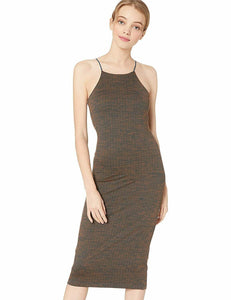 Hurley Women's Quick Dry Reversible Fitted Dress - Dark Russet