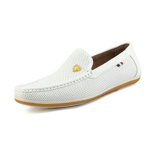 Bruno Marc Men Flat Leather Slip On Casual Driving Loafers Moccasins Dress Shoes
