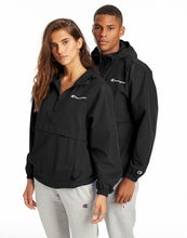 Load image into Gallery viewer, Champion Mens Jacket Packable Wind Resistant Lightweight Scuba Hood Kanga pocket