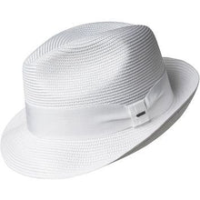 Load image into Gallery viewer, Craig Center Dent Straw Fedora by Bailey