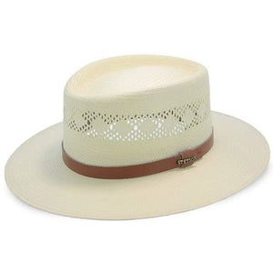 Brentwood Vented Straw Outdoor Hat by Stetson