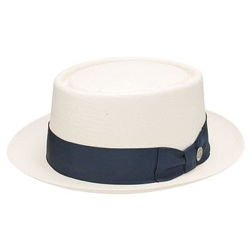 Mover And Shaker Straw Porkpie by Stetson