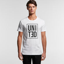Load image into Gallery viewer, The Ferry Reverse Tee Male W (front) - The United Project