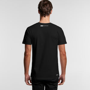 The Andy Reverse Tee - Organic Mens