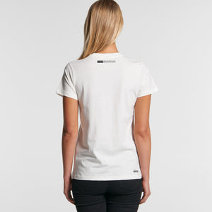 The Ferry Reverse Tee - Organic Womens
