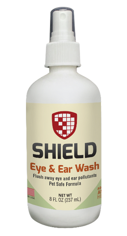 Shield Eye & Ear Wash - 8 oz Pump Spray