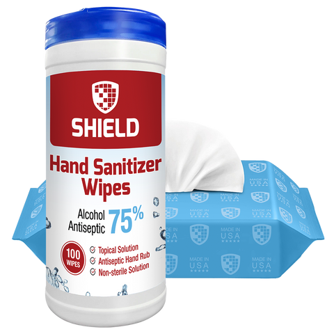 Hand Sanitizer Wipes (per case)
