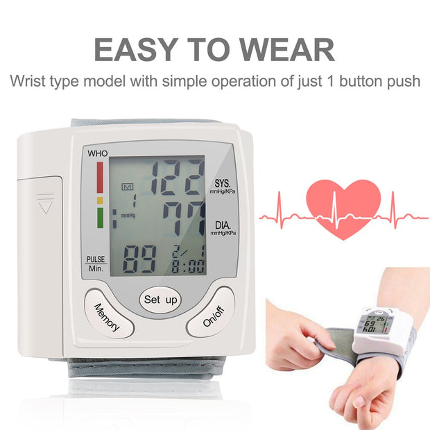 Heart Beat Pulse Monitor