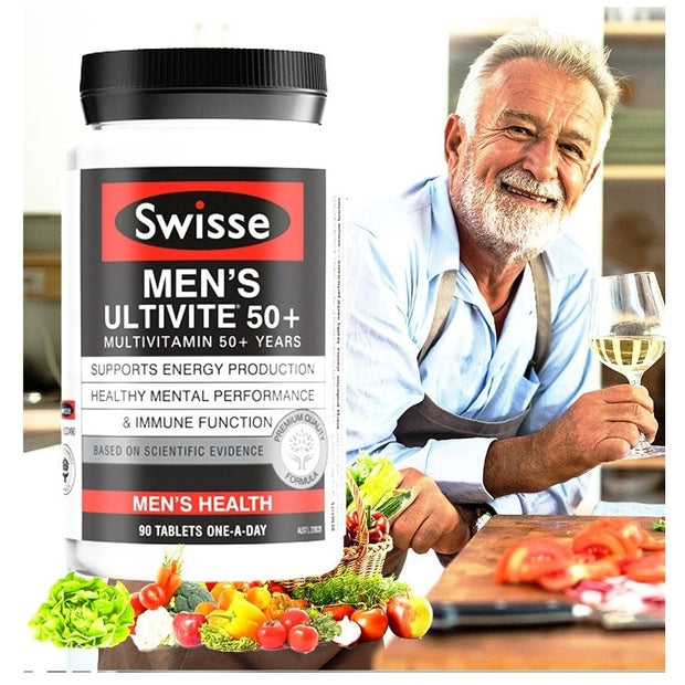 Swisse Multivitamins for 50+ Years