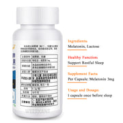 3 Bottles/Lot High Quality Sleeping Pills