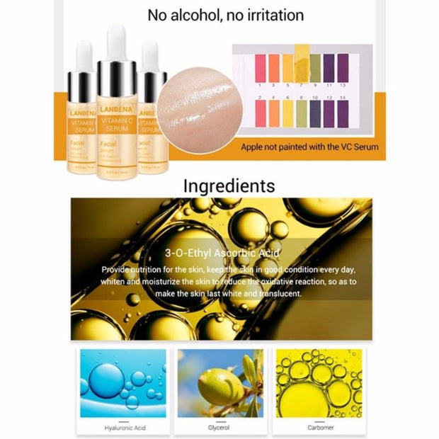 1pcs 15ml Vitamin C Hyaluronic Acid