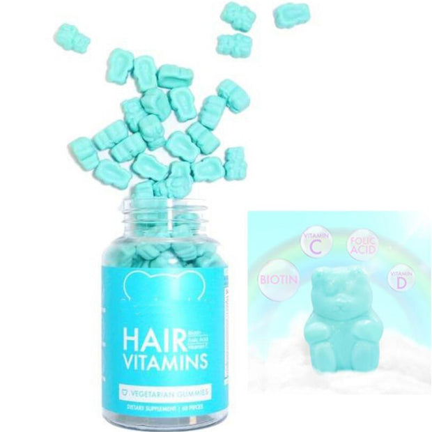 Hair Vegetarian Gummies Dietary Supplement