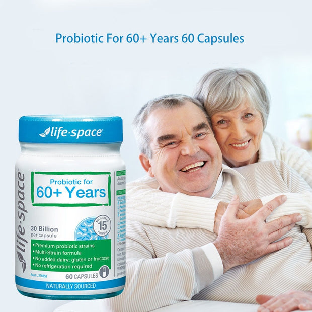 60 Capsules Support Healthy Immune Digestive System