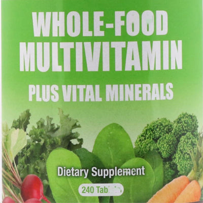 Multivitamins and important minerals