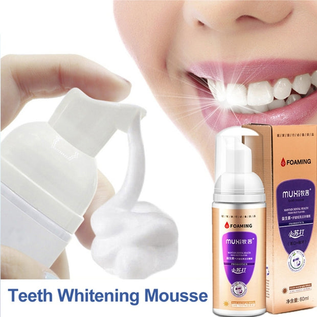Probiotics Mousse Toothpaste Cleansing Teeth