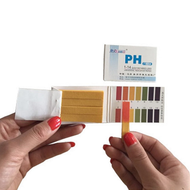 80 Strips/pack PH Test Strips Full PH Meter