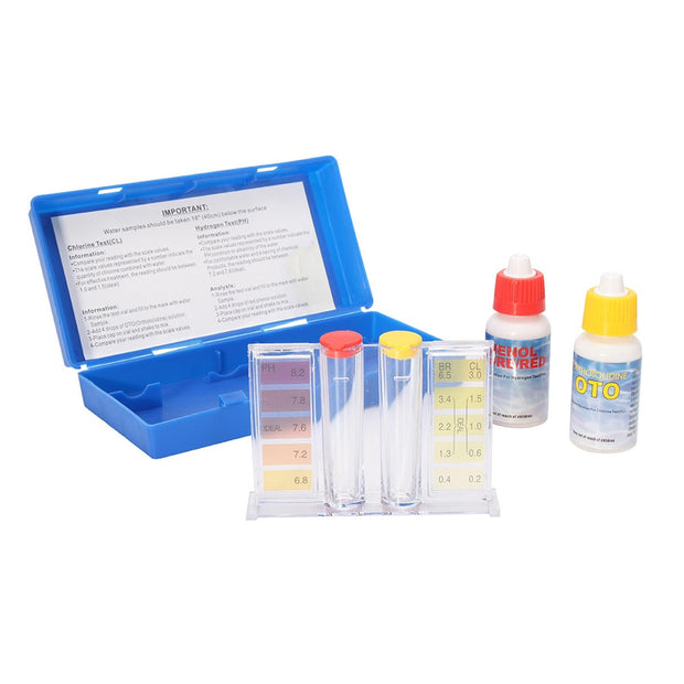 Chlorine PH Value Test Alkalinity Hardness Tester