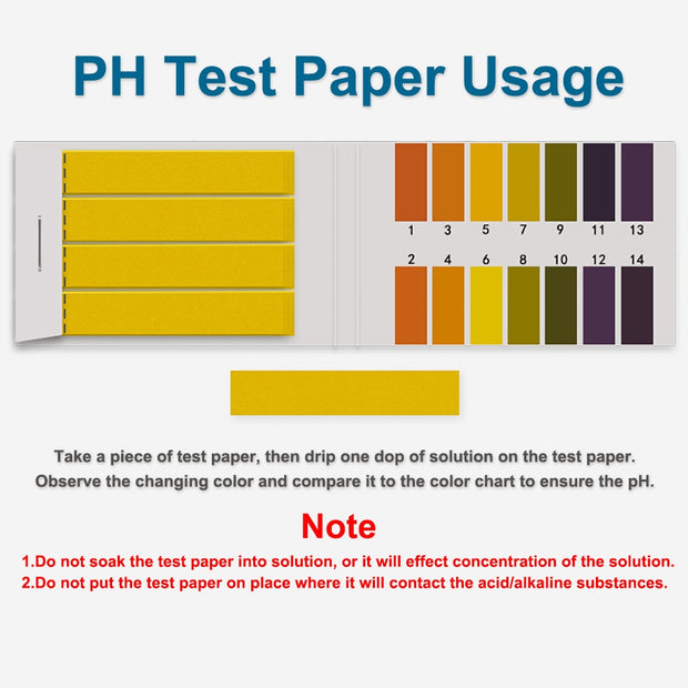 80 Strips PH Test Strips PH Tester