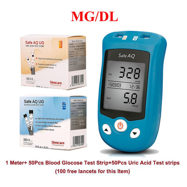 Blood Glucose & Uric Acid Mete