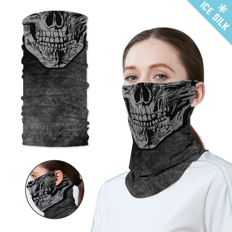 Ice Silk Neck Gaiter with Ear Loops BSGE-017