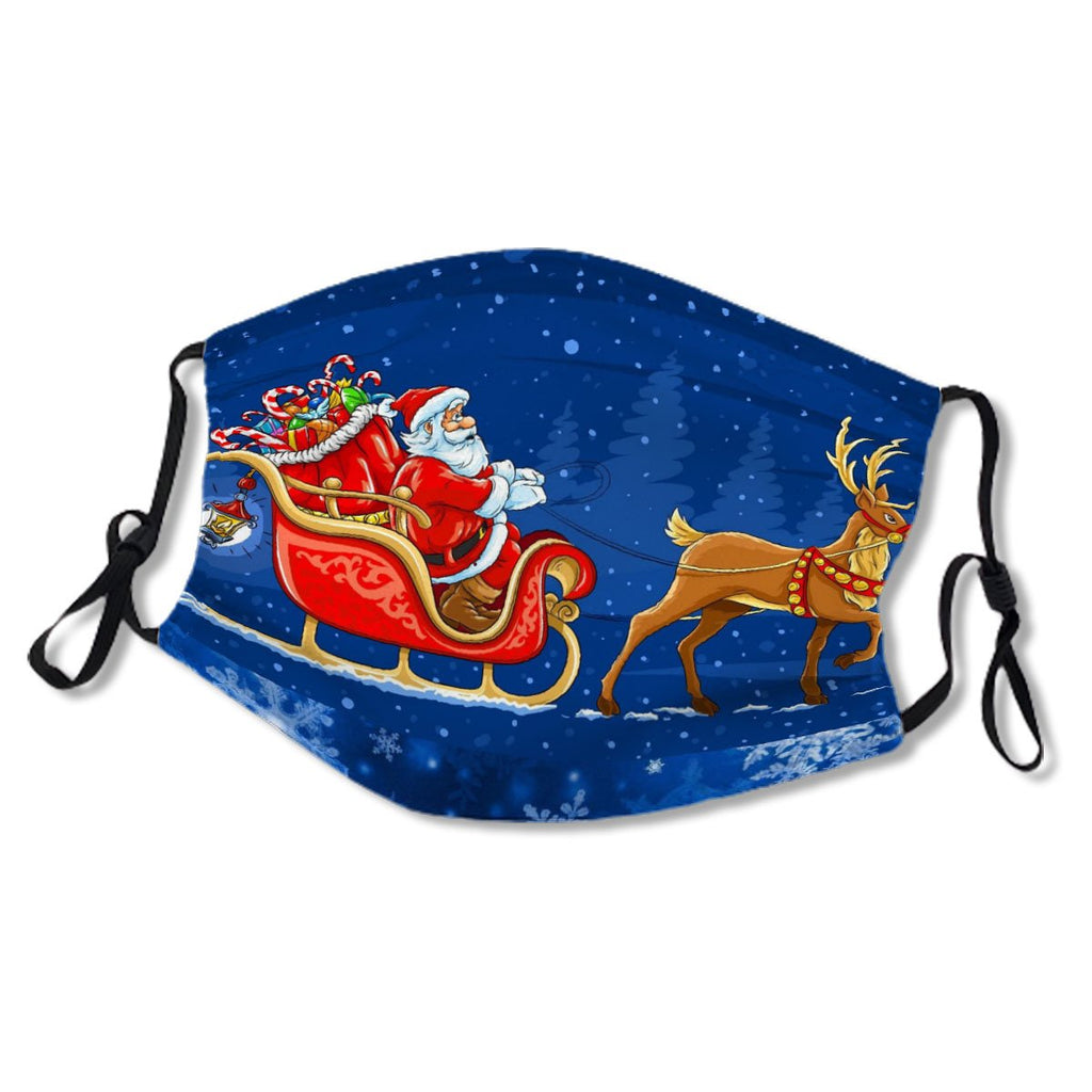 Merry Christmas Santa Sleigh Women'S No. 2X9CTU