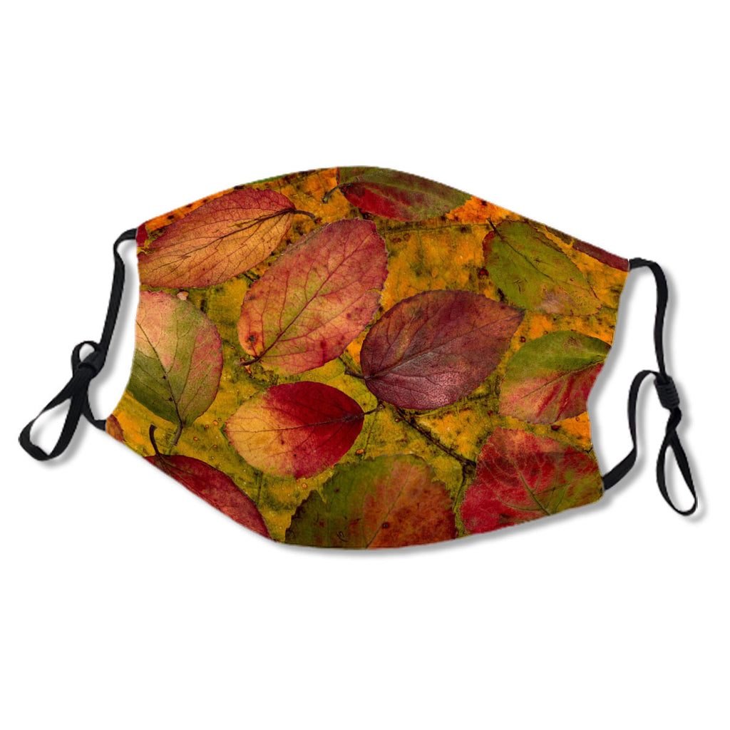 Autumn Leaves Orange Pattern No. 3Y8UUN