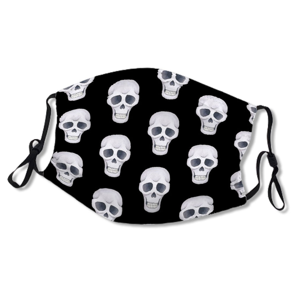 Black Skull Fun Designer Print No. 69P9ZH