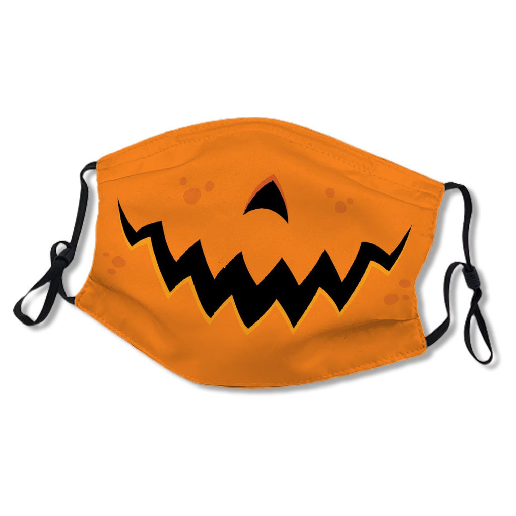 Crazy Pumpkin Jack-O-Lantern Mouth No. B9P4X6