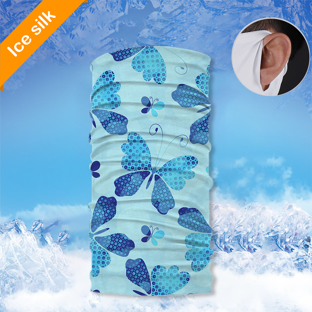 Ice Silk Neck Gaiter with Ear Loops BSGE-025