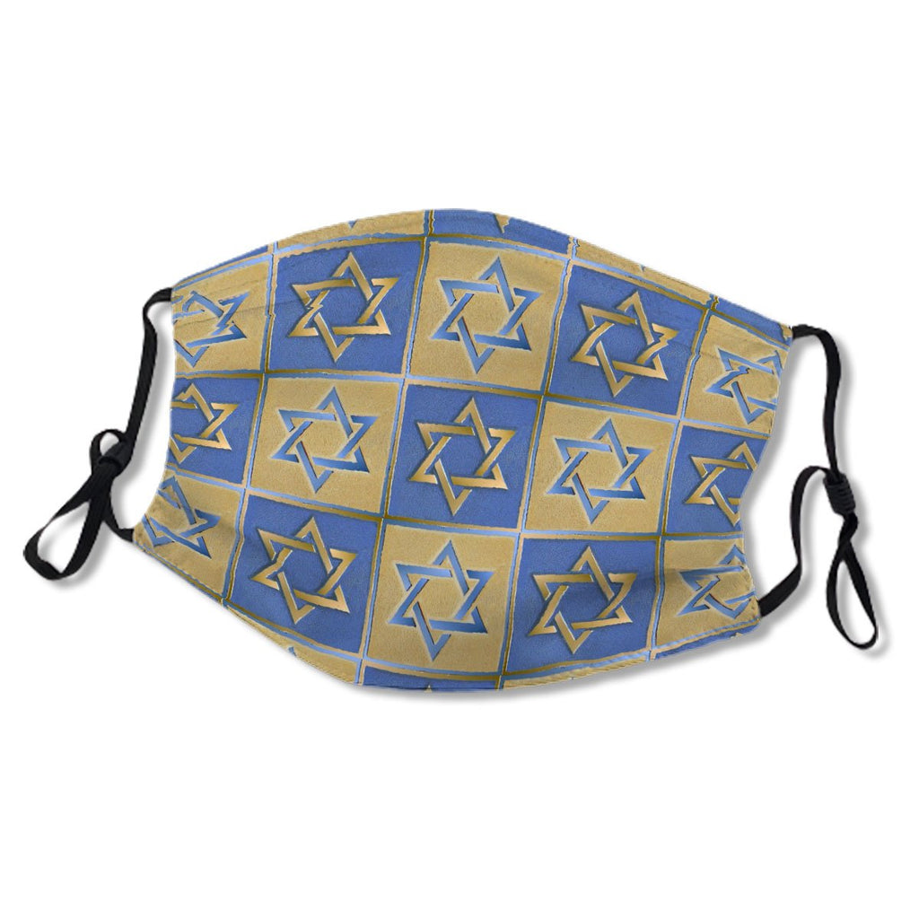 Blue Gold Star Of David No.CEARKQ